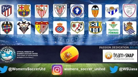 Barcelona lead the Spanish Liga Femenina Iberdrola 10th September 2017