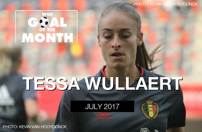 Tessa Wullaert wins WSU Goal of the Month - July 2017