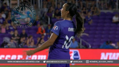 Orlando Pride Forward Marta Voted NWSL Player of the Month