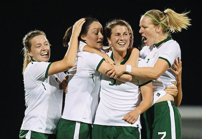 Ireland WNT: 2019 World Cup qualification campaign off to a winning start in Northern Ireland