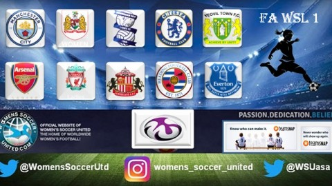 Chelsea Ladies Lead FA Women's Super League One 24th September
