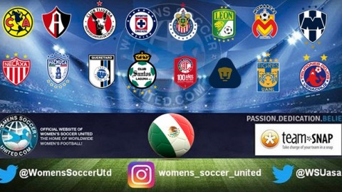 Mexico Liga MX Femenil 2017 Round 8 Match Results