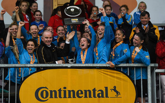 UCD Waves lift Continental Tyres WNL Shield after Galway victory