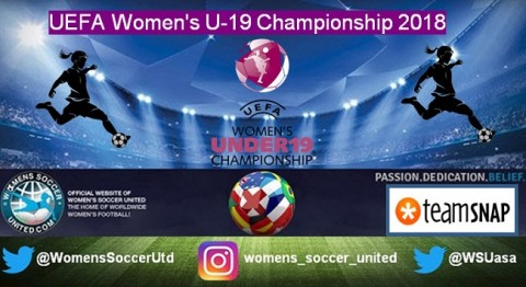 UEFA Women's U-19 Championship 2018 Qualifying Round Fixtures and Results