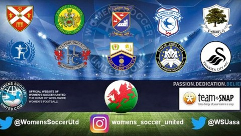 Wales Women's Premier League Opening Day Results 3rd September