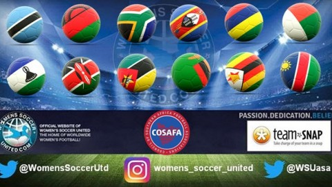2017 COSAFA Women's Championship Match Fixtures and Results