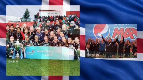 Congratulations Þór/KA in winning the Iceland Women's Úrvalsdeild 2017
