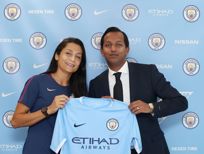 Danish international Nadia Nadim signs for Manchester City