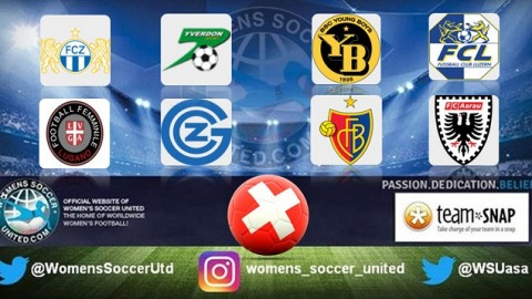 Switzerland Nationalliga A Women's Match Results 3rd September 2017