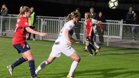 Olympique Lyon lead French Feminine Division 1 29th October 2017