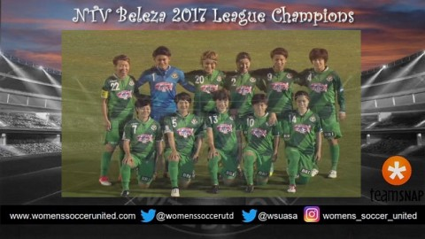 NTV Beleza Win 2017 Japan's Nadeshiko League 7th October