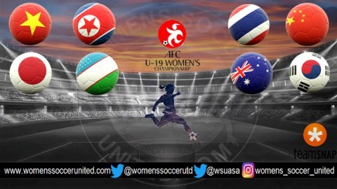 AFC U-19 Women's Championship China 2017 Match Fixtures and Results
