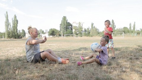 Heartfelt story about a young Ukrainian woman, Alina Shilova, torn between playing football and looking after family