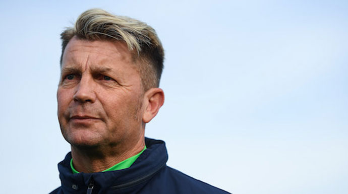 Colin Bell prepares Republic of Ireland squad for their 'toughest test yet' against Slovakia