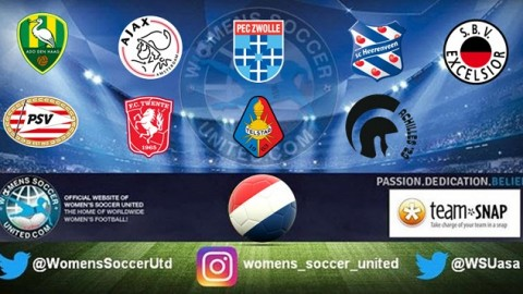 PSV Vrouwen lead the Netherlands Women's Eredivisie 15th October 2017