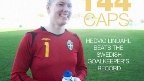Hedvig Lindahl earns 144th Cap to beat Swedish goalkeeper's record – passes Thomas Ravelli