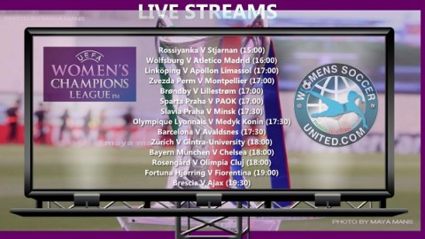 Live Return Leg Streams 11th October UEFA Women's Champions League