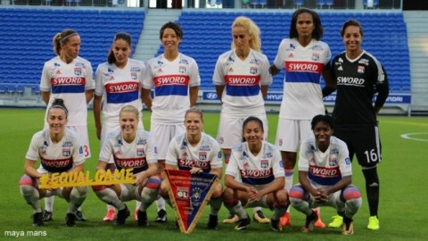Olympique Lyon lead French Feminine Division 1 15th October 2017