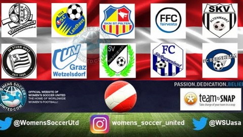 SKN St Pölten Frauen lead Austria Frauenliga 5th November 2017