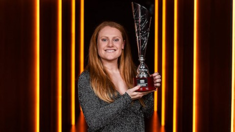 Peamount United striker Amber Barrett scoops Player of the Year award