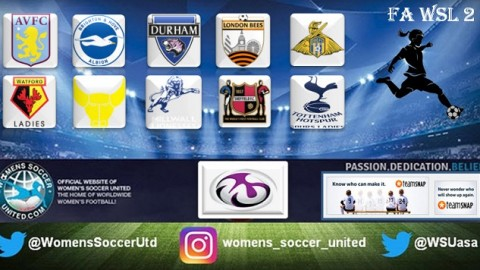 Millwall Lionesses Lead Women's Super League Two 13th November 2017