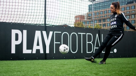 PlayFootball and She Can Play Launch New Nationwide Girls Football Coaching Programme