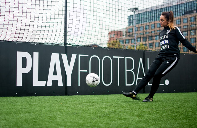 PLAYFOOTBALL & SHE CAN PLAY LAUNCH NEW NATIONWIDE GIRLS FOOTBALL COACHING PROGRAMME