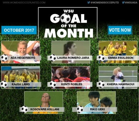 VOTE: October's WSU Goal of the Month