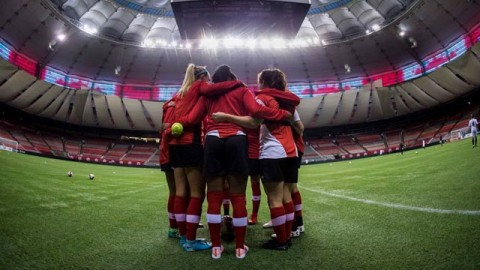 Capacity crowd of over 27,000 fans expected for tonight's derby match between Canada and USA
