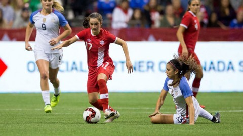 Match Report | Canada draw the USA 1-1 in front of a capacity crowd of 28,017