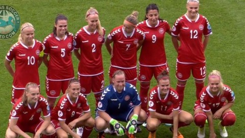 Denmark's women received a four year suspended ban from UEFA
