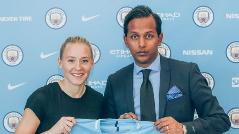 Swedish midfielder Julia Spetsmark to join Manchester City in January 2018