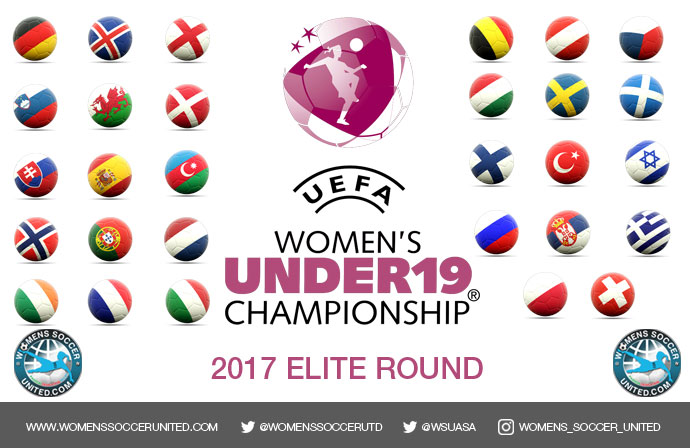 UEFA European Women's Under-19 Championship elite round team line-up