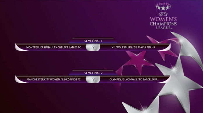 Result of the UWCL 2017/18 semi-final draw