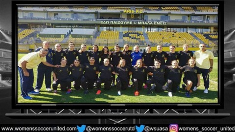December 17: ARIS Ladies FC lead the Hellenic National League