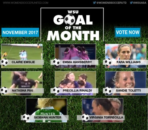 VOTE: November's WSU Goal of the Month