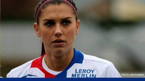 Forward Alex Morgan Named CONCACAF Female Player of the Year