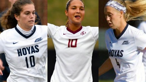 Rachel Corboz, Deyna Castellanos & Elizabeth Wenger top the United Soccer Coaches honor roll