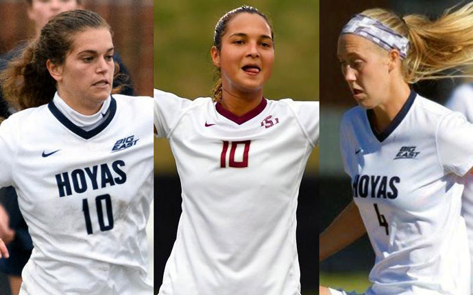 Corboz, Castellanos & Wenger top the United Soccer Coaches honor roll
