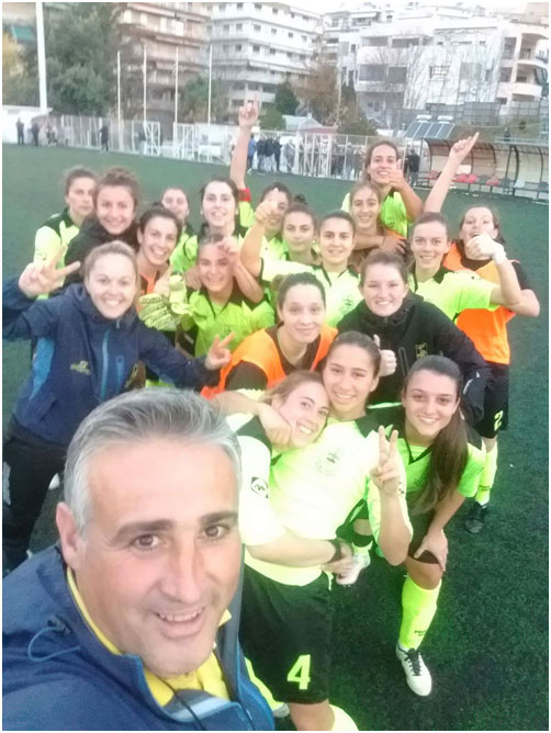 Photo of the day: Selfie of ARIS LADIES F.C on their win v P.A.O.K Ladies