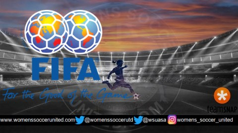 FIFA Women's world Rankings 15th December 2017