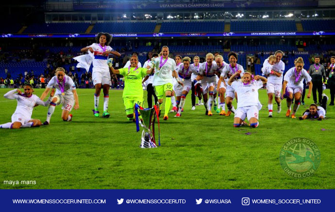 IFFHS AWARDS | Olympique Lyonnais voted The World's Best Woman Club 2017