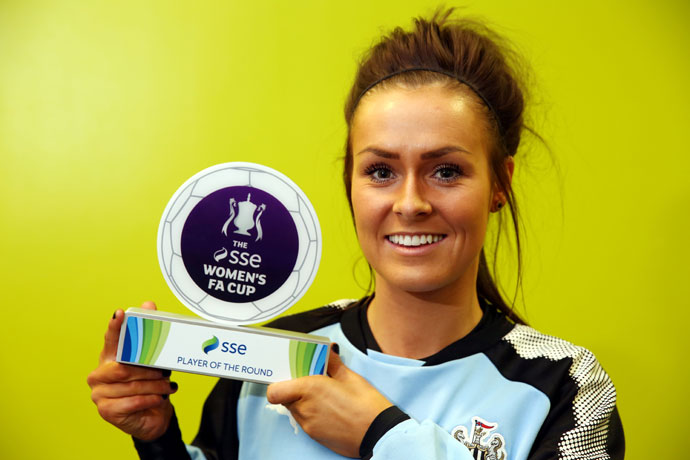 Megan McKenzie - SSE Women's FA Cup player of the Round