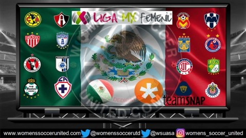 Mexico Liga MX Femenil Match Fixtures 2018 Season