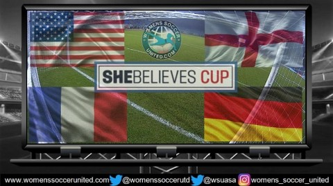 She Believes Cup 2018 Match Times and Television Schedule