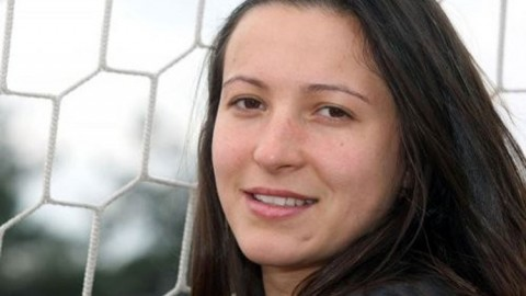 January 28: Tornado Jelena Dimitrijević scores four on PAOK Ladies F.C win against Fidon Argos Ladies F.C.