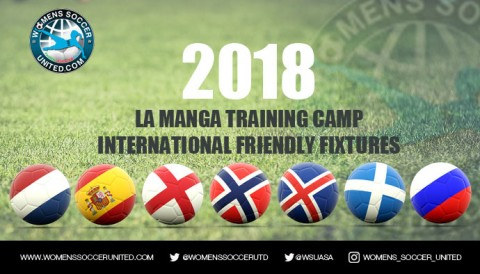 International Women's Football Training Matches, La Manga 2018