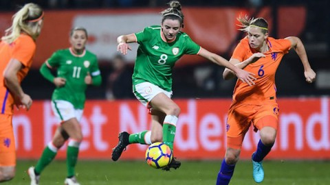 Republic of Ireland striker Leanne Kiernan hopes to play major part in 2018 ahead of Portugal friendly