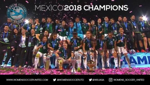 Mexico win the CONCACAF Women's U-20 Championship for the first time in history!