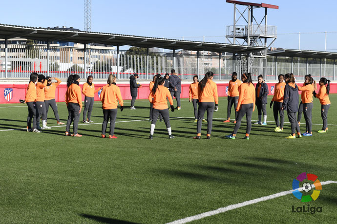 Santa Fe and Atlético de Madrid Femenino will face each other in Madrid on Thursday 1 February